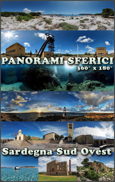 spherical panoramas, panorami sferici 360